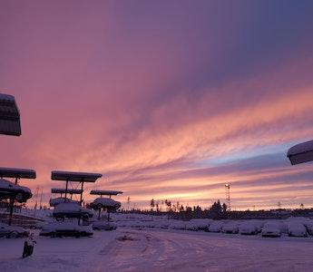 Korta solpass i Storsund