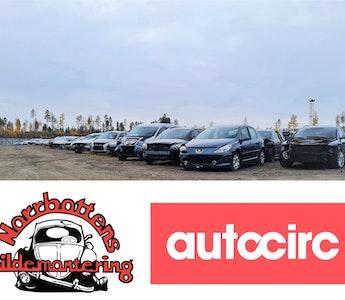 Norrbottens Bildemontering blir en del av Autocirc